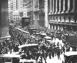 Crack da Bolsa de Valores de Nova York (Foto: Reprodução)