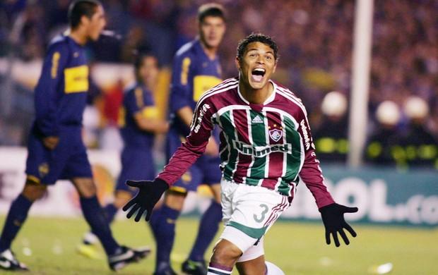 Thiago Silva Fluminense 2008 (Foto: Photocâmera)