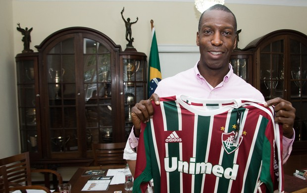 Michael Johnson Fluminense atletismo (Foto: Bruno Haddad /FLUMINENSE F.C.)