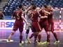 Com 9 brasileiros em quadra, Rússia elimina o Azerbaijão da Uefa Euro