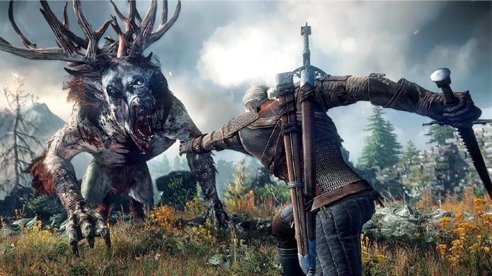 Prepare-se para levar Geralt a intensas e violentas caçadas com The Witcher 3: Wild Hunt (Foto: Reprodução/Dual Shockers)