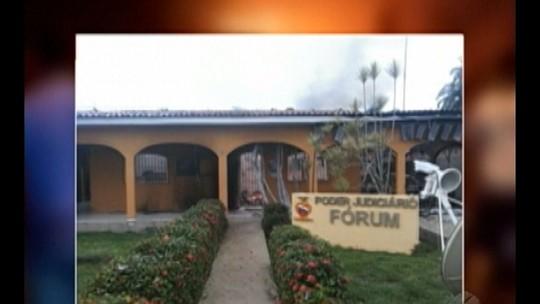 Polícia investiga incêndio no Fórum de Concórdia do Pará
