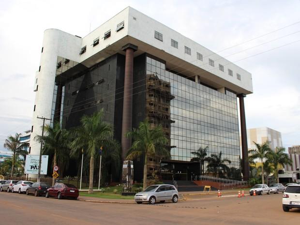 Tribunal de Justiça de Rondônia (Foto: Angelina Ayres/ Rede Amazônica)