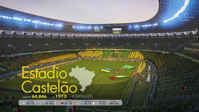 Estádio do Castelão em Copa do Mundo Fifa 2014 (Foto: Divulgação)