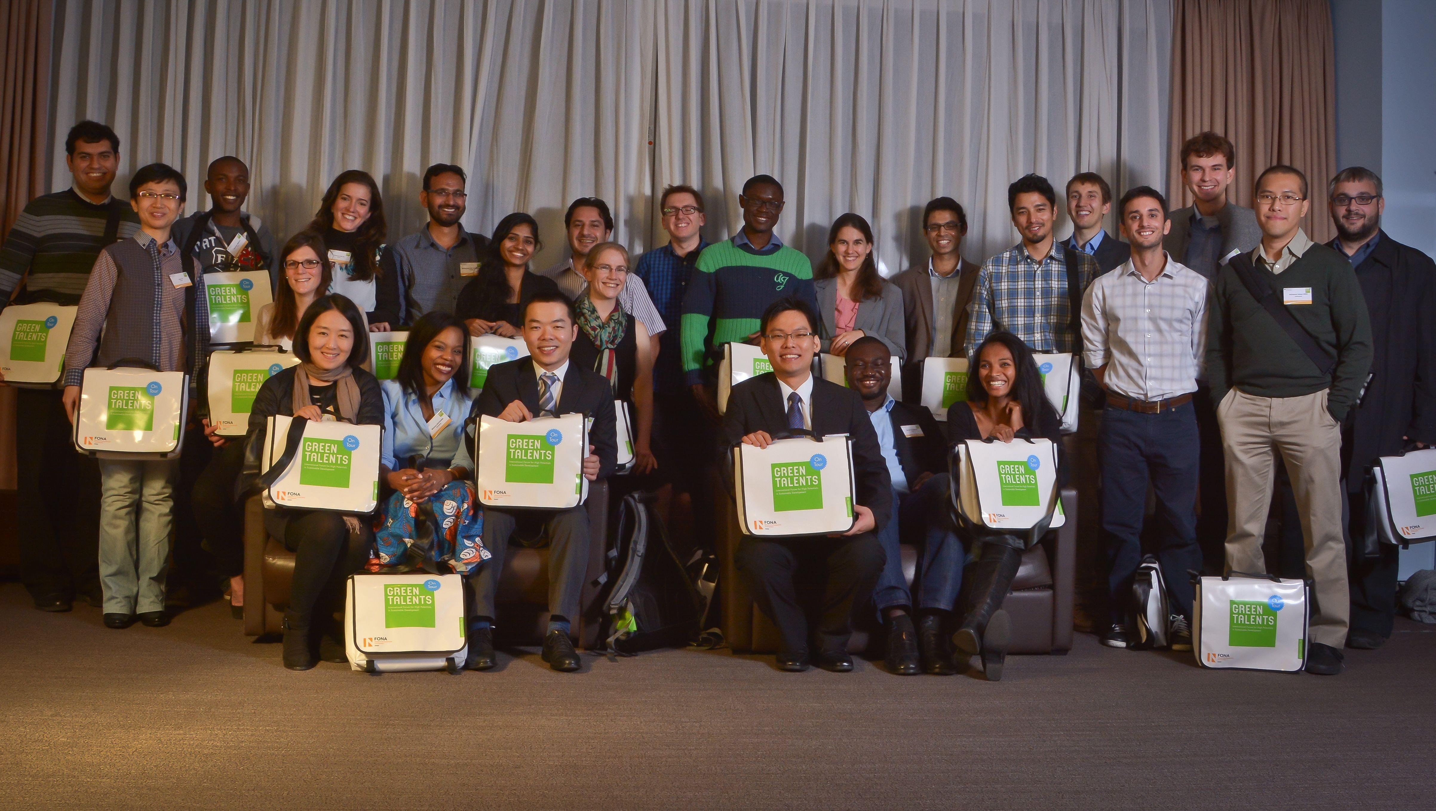 Os 25 'talentos verdes' de 2014 reunidos (Foto: Divulgação)