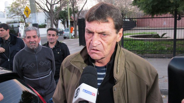 Julio César Falcioni, técnico do Boca Juniors  (Foto: Alexandre Lozetti / Globoesporte.com)