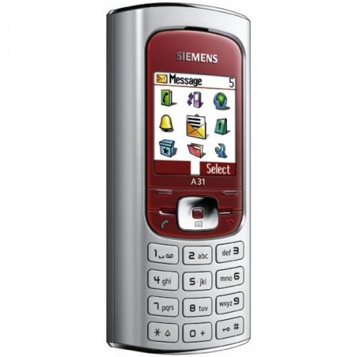 O A31 foi último celular lançado pela Siemens, em 2005 (Foto:Reprodução/azerty.ro)
