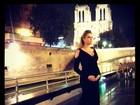 Grávida, Ana Hickmann fala sobre viagem: 'Paris foi inesquecível'