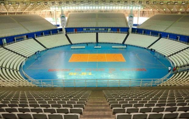 Arena Amadeu Teixeira (Foto: Antônio Lima/Semdej)