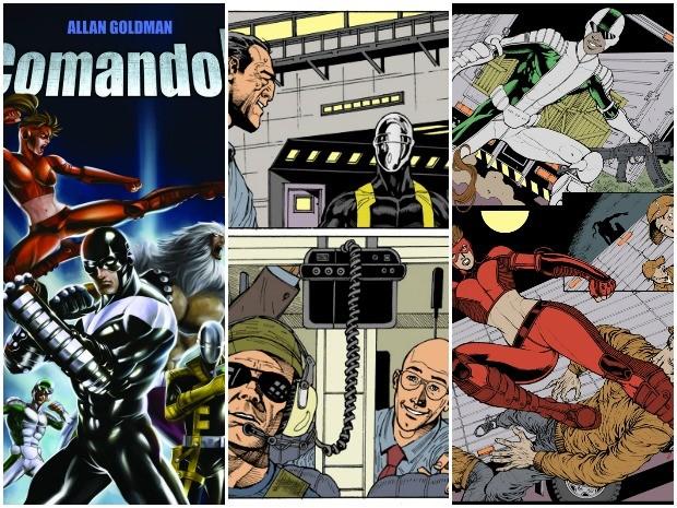 Revista de super-herói é produzida no Ceará (Foto: Divulgação)