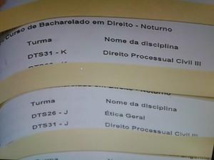 Estudantes da UFU são suspeitos de invadir sistema e alterar notas  (Foto: Reprodução/TV Integração)