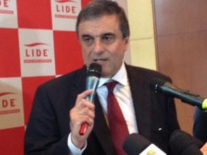 Ministro Eduardo Cardozo (Foto: Tatiana Santiago/ G1)