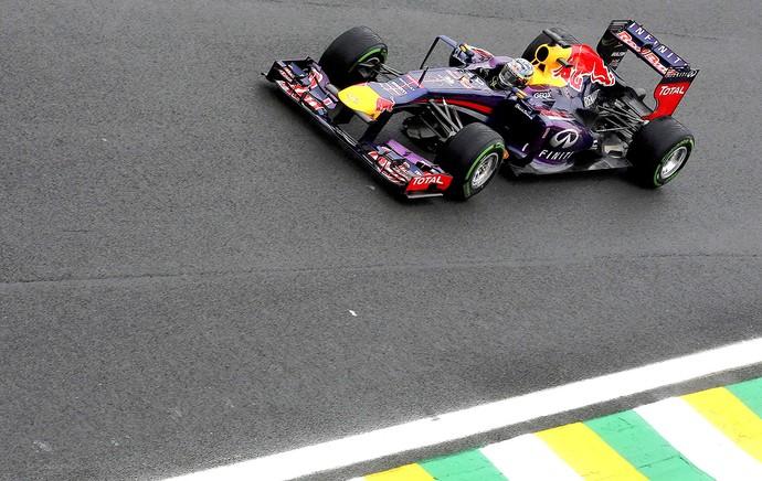 Vettel treino GP Brasil (Foto: Reuters)