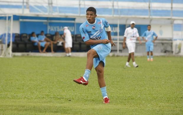 Welthon trocou o Paysandu pelo Grêmio Anápolis. Jogador disputará a 1ª Divisão do Goiano (Foto: Divulgação/Arquivo pessoal do jogador)
