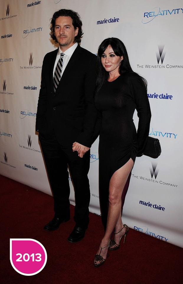 Shannen Doherty and Kurt Iswarienko 2013 (Foto: Getty Images)