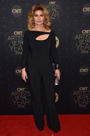 Shania Twain em prêmio de música em Nashville, no Tennessee, nos Estados Unidos (Foto: John Shearer/ Getty Images/ AFP)