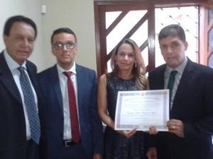 Bel (PR) é diplomado prefeito de Araújos (Foto: Bel/Arquivo pessoal)