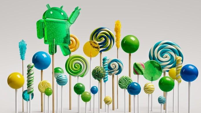 Android Lollipop já é a terceira versão do Android mais popular no mundo (Foto: Divulgação)