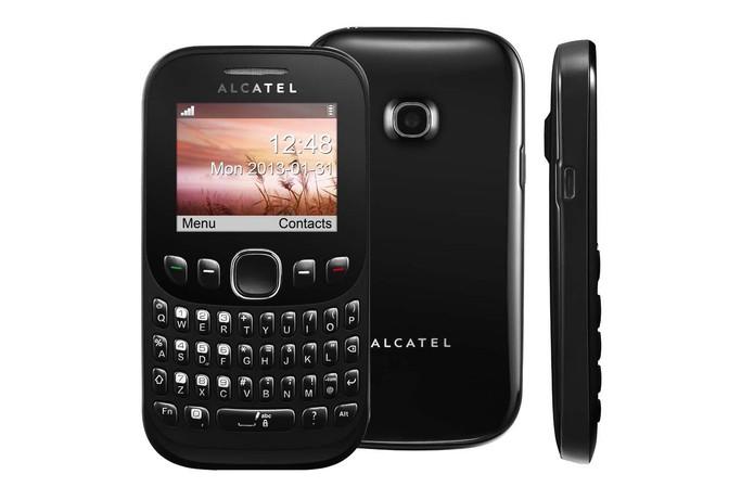 Alcatel OT 3000 tem função de Rádio FM e uso de três chips de operadoras (Foto: Divulgação/Alcatel)