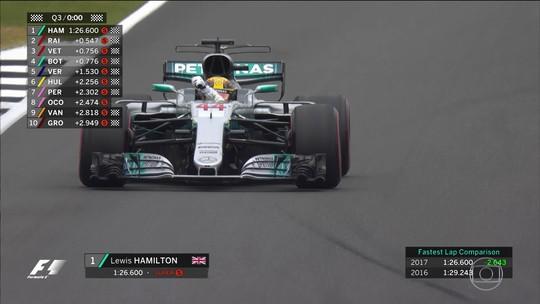 """Em 3º, Vettel reconhece superioridade de pole Hamilton: """"Fez por merecer"""""""
