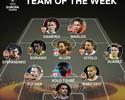 Com gol e assistência, Marlos é eleito o jogador da semana na Liga Europa