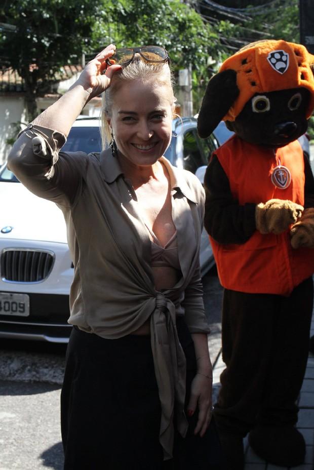 Angélica (Foto: Daniel Delmiro/AgNews)