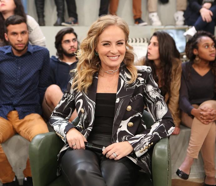 Angélica participa da gravação do 'Altas Horas' (Foto: Carol Caminha/Gshow)