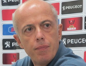 Wallim Vasconcellos, vice de futebol do Flamengo (Foto: Richard Souza)