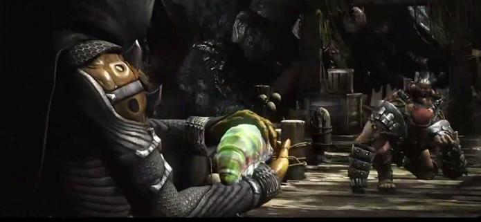 Novos personagens apareceram em trailer de MKX (Foto: Reprodução/YouTube)