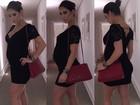 Grávida, Bella Falconi posa de saltão e chama a atenção de internautas