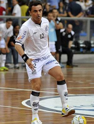 Santos, de Falcão, empata com o Florianópolis e está na final da Liga Futsal (Foto: Divulgação/Santos FC)