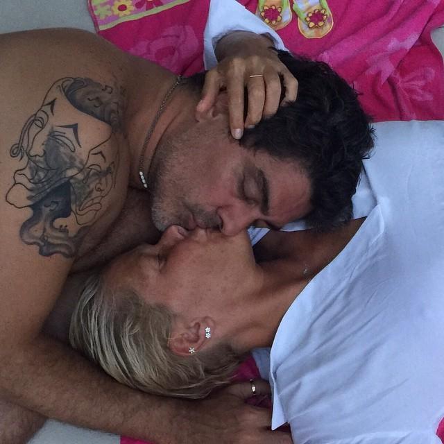 Junno e Xuxa (Foto: Reprodução / Instagram)