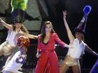 Com discurso ousado, Ivete Sangalo canta em show no Rio