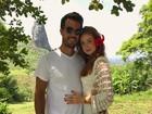 Marina Ruy Barbosa comemora um ano de namoro com Xandinho Negrão