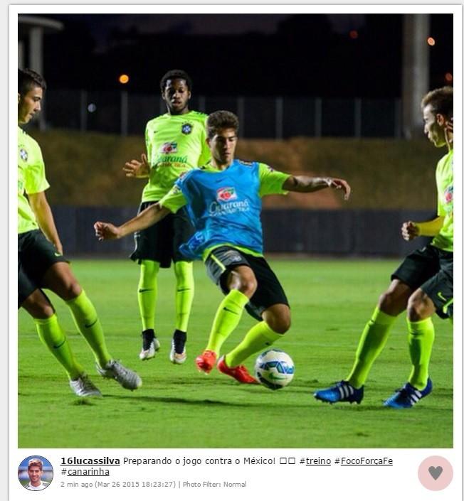 Lucas Silva confunde adversário