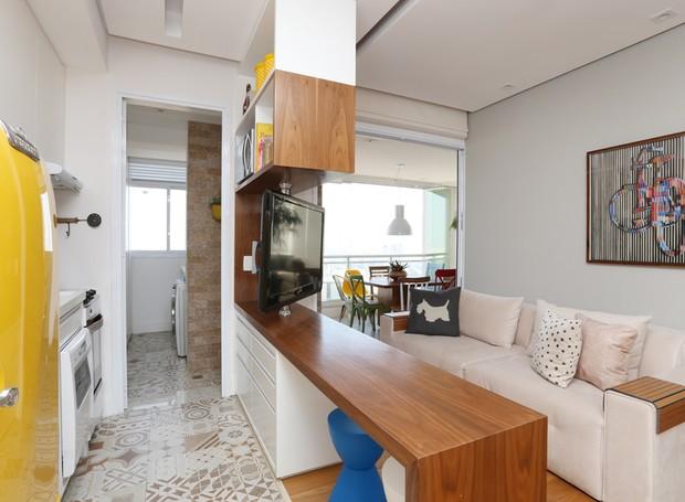 Arquiteta Duda Senna - Apartamento pequeno Vila Mariana  (Foto: Mariana Orsi)