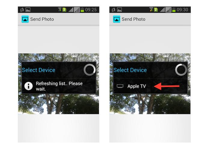 Definindo uma Apple TV como dispositivo pareado com o Android através do AirBuddy (Foto: Reprodução/Marvin Costa)