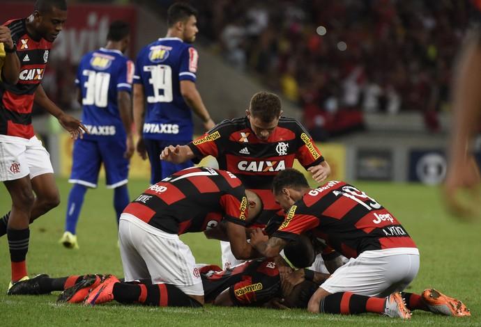 Luiz Antônio, Flamengo x Cruzeiro (Foto: André Durão)