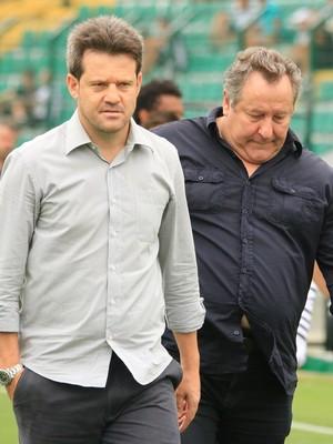 Argel Fucks e Wilfredo Brillinger Figueirense (Foto: Luiz Henrique/Figueirense FC)