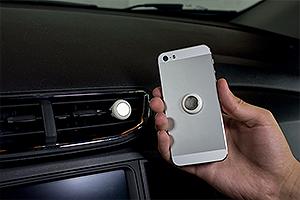 Suporte de celular com imã (Foto: Autoesporte)