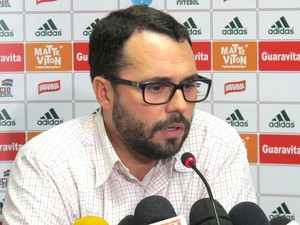 Mário Bittencourt fala sobre o fim da concentração no Fluminense. (Foto: Richard Souza)