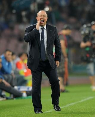 Rafael Benitez - técnico Napoli - Liga Europa (Foto: Francesco Pecoraro/Getty Images)