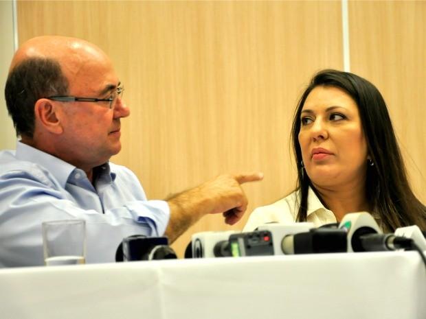 Indeferido pelo TSE, o deputado estadual José Riva (PSD) deu lugar à esposa Janete Riva (PSD) na disputa pelo governo de Mato Grosso. (Foto: Renê Dióz/G1)