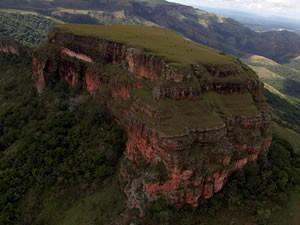 Morro de São Jerônimo é o ponto mais alto de Chapada (Foto: Eduardo Barcellos)