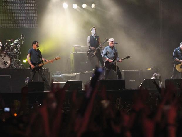 The Offspring comanda show no Palco Sunset do rock in Rio 2013 (Foto: João Laet/Agência O Dia/Estadão Conteúdo)