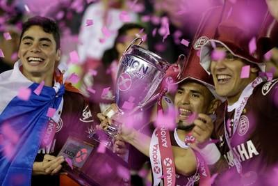 Lanus campeão argentino 2016 (Foto: AP)