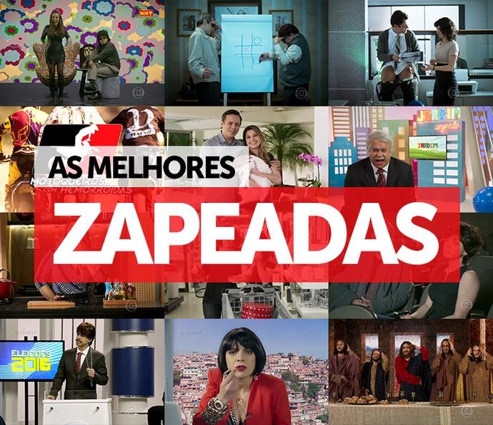 As melhores zapeadas do Tá no Ar (Foto: TV Globo)