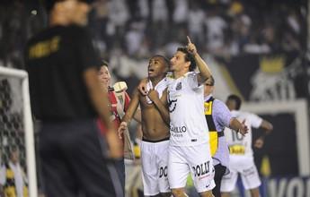 Robinho festeja 1º título na Vila, elogia Palmeiras e agradece a Enderson