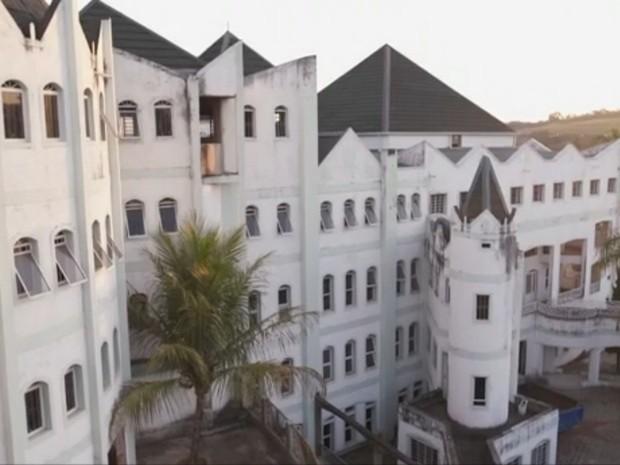 Castelo José Rico em Limeira (Foto: Reprodução/Tv Globo)