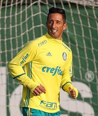 Barrios Palmeiras (Foto: Cesar Greco/Ag Palmeiras)